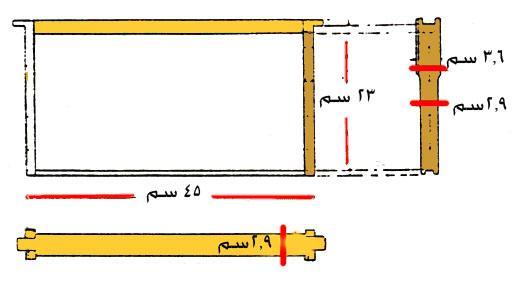 خلايا نحل العسل (أنواعها، طرائق تصنيعها، طرائق صناعة تصاميم خاصة) bb15f.jpg